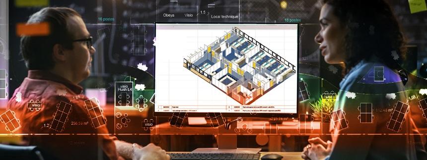 Axeo FM BIM maquette 3D