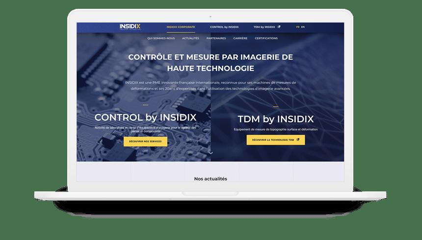 insidix site internet accueil