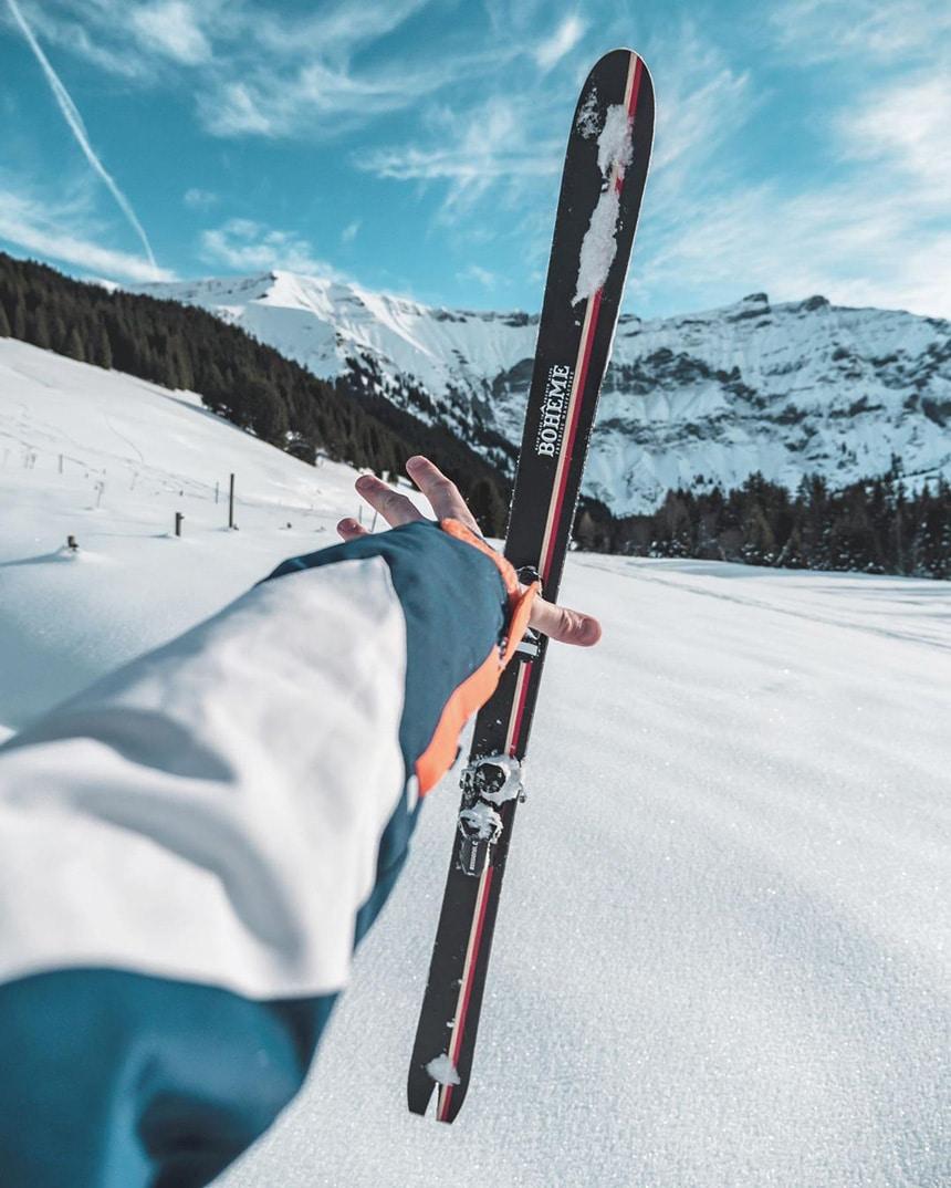 piste de ski alpes françaises