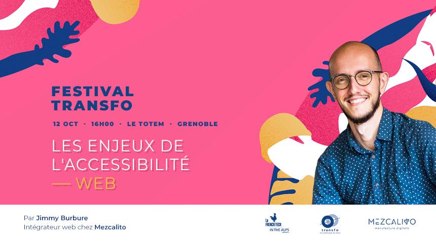 Festival transfo 2020 accessibilité web