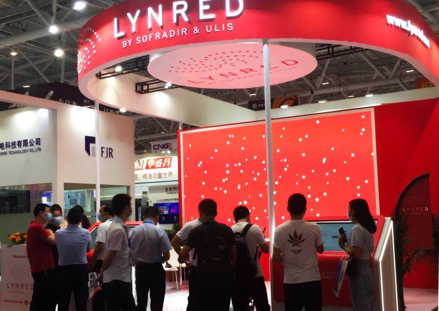 CIOE 2020 shenzen lynred booth