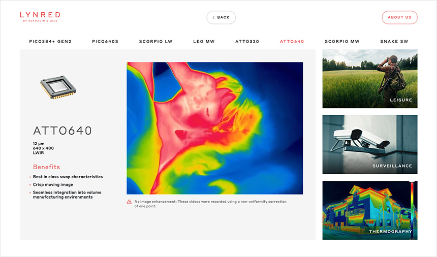 Lynred thermography