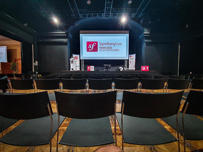 symfony live paris salle de conference