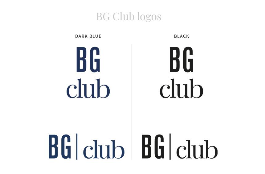 Logos du BG-club de Bongénie-Grieder
