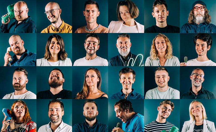 équipe de l'agence digitale mezcalito