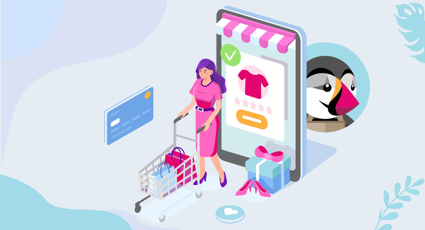 solution e-commerce packagée