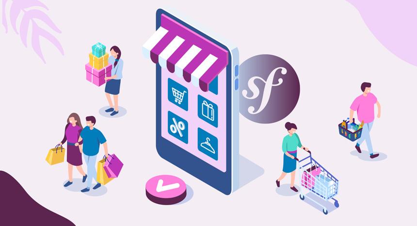 solution e-commerce basée sur symfony