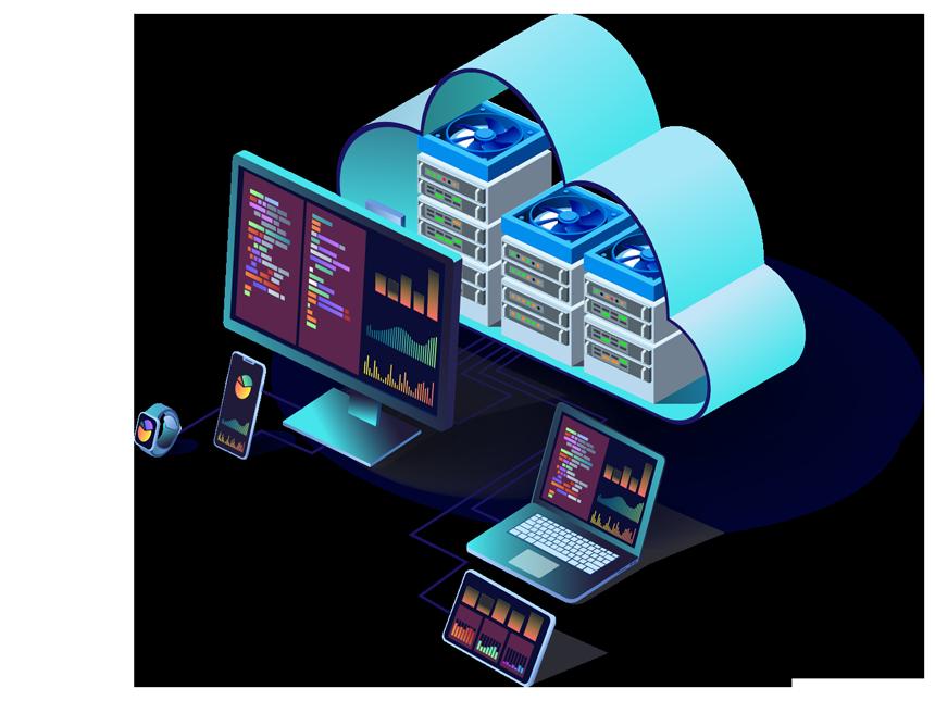 serveurs d'hébergement et cloud