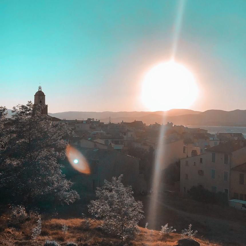 vue de la Citadelle de Saint-Tropez