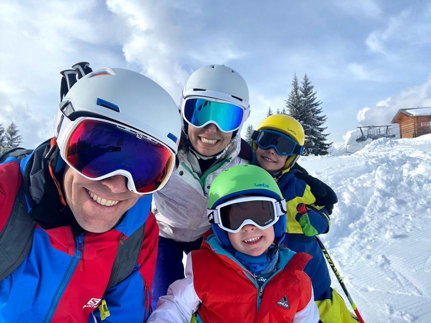 Paul et sa famille