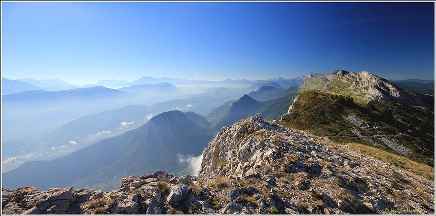 Le Vercors dans les Alpes françaises